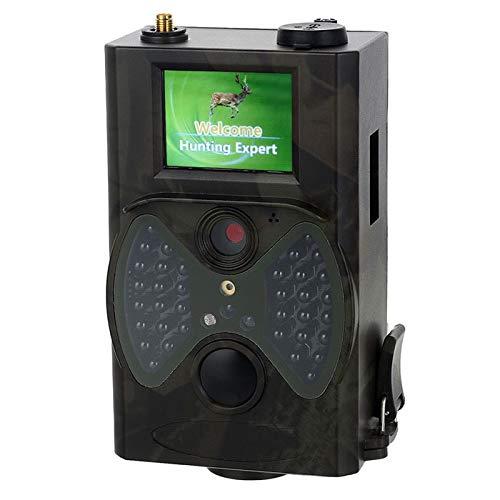 XINHUANG Wildkamera Jagdkamera 12MP 1080P HD Game & Trail-Jagdkamera No Glow Infrarot-Scouting-Kamera Nachtsicht bis zu 75 m mit 2,0