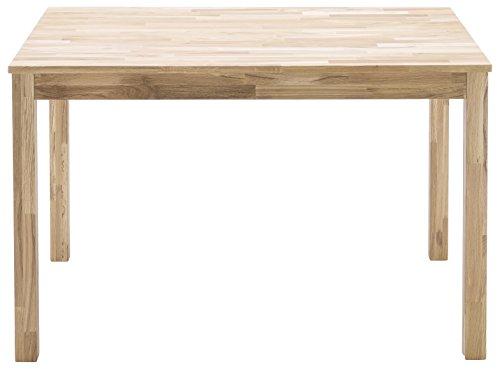Robas Lund, Tisch, Esszimmertisch, Sergio, Wildeiche/Massivholz,  80 x 140 x 76 cm, SEF14WE