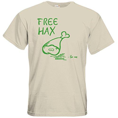 getshirts - Die Grillshow - The Shop - T-Shirt - Free Hax gruen Natural