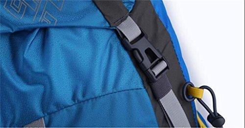 pressione professionale sacchetto di alpinismo all'aperto grande zaino da viaggio capacità di articoli per lo sport borsa a tracolla ridotto ( Colore : Verde , dimensioni : 50L ) Rosso