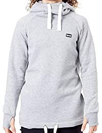 BRO Sudadera con Capucha de Snowboard Chill N Shred Classic Collection  Heather G 01904b2f303