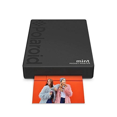 endrucker mit Zink-Papier. Bluetooth für Android- und iOS-Geräte. Druckt in selbstklebendem Zink-Papier 2x3