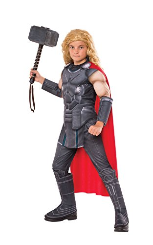 (Rubie's offizielles Marvel Ragnarök Thor, Premium-Kinderkostüm)