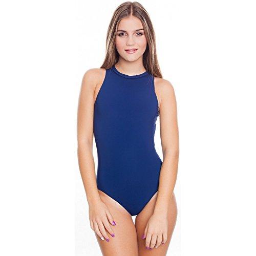 AQUA-SPEED Damen Badeanzug - Wettkampfanzug - Perfekt Für Sport Und Freizeitschwimmerinnen - Aus Hochwertigem Material - PERFECT FIT, #AsBLANCA Blau
