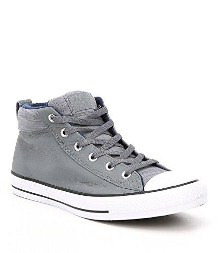 Converse Chuck Taylor All Star Street Mid Adult Unisex Cool Grey/Midnight Navy (11.5 D US)