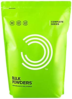 BULK POWDERS Complete Lean Mass Muscle Gain Protein Shake Powder, Strawberry, 1 kg