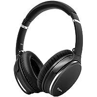 Noise Cancelling Kopfhörer, Leicht, Faltbar, Kabellos mit Bluetooth 5.0,Srhythm NC35 Over-Ear,Schnellladung,CVC8.0-Mikrofon, Megabass, 40+ Stunden Spielzeit - geringe Latenz (Gun Schwarz)