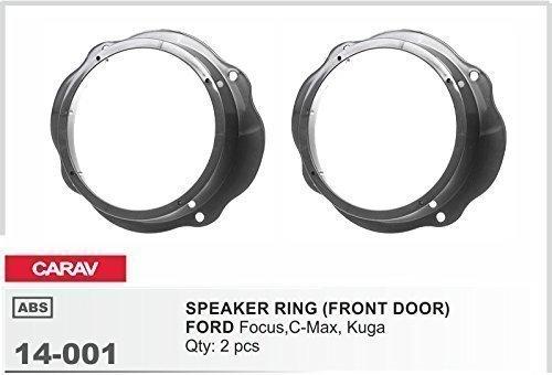 CARAV 14-001 Auto Lautsprecher Einbau Adapter Ring für FORD Focus- C-Max- Kuga Tür vorne