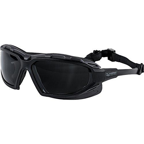 Valken Echo Safety Vented Lense UV Protection Glasses - Echo-air
