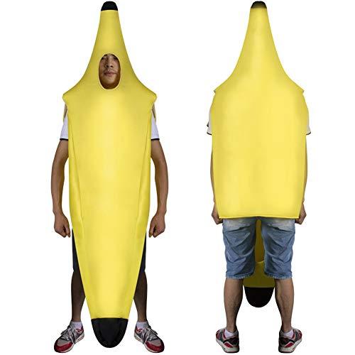 Zooarts Erwachsenen-Kostüm Banana Halloween Party Einheitsgröße