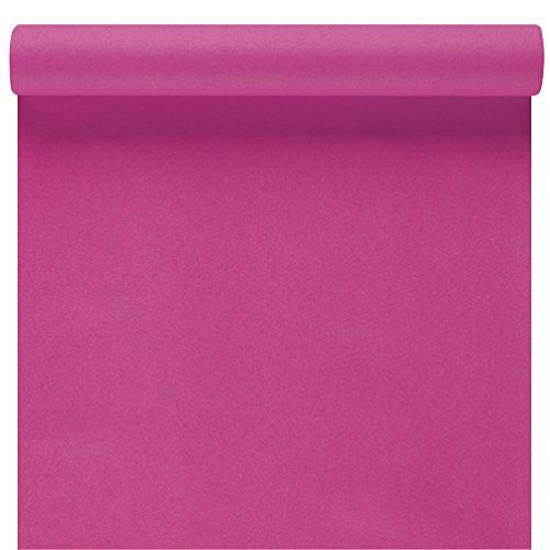 Susy Card 11449568 Tischläufer, Tischdekoration rosa, Airlaid, 3 m x 40 cm