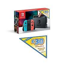 Nintendo 10002804 Switch (Neon Red/Neon Blue)