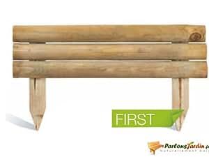 Bordure de jardin en bois à planter First