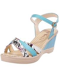 Sandali multicolore per donna Oodji Ultra