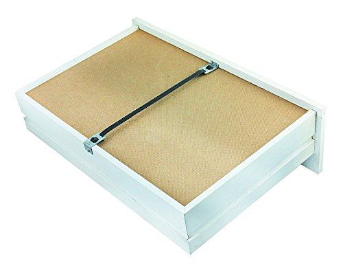 kit Fix A Drawer Schubladen (x, 4 Stück) schnell zur Reparatur von Schubladen & leicht, verstärken/Schubladen stärken, BROKEN Schubladen mend Wandarbeit aus Holz (Riemen Reparatur-kit)
