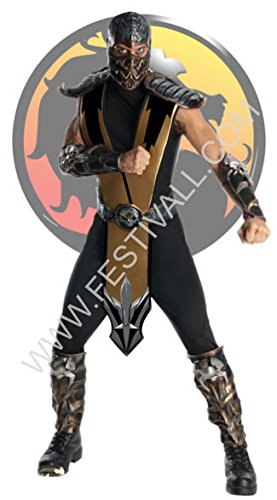 Festival Magia und Giocoleria Kostüm Mortal Kombat - Scorpion (R198)