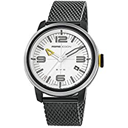 Reloj de Cuarzo Momo Design Evo Three Hands, Acero Inoxidable, PVD, MD1014BS-20