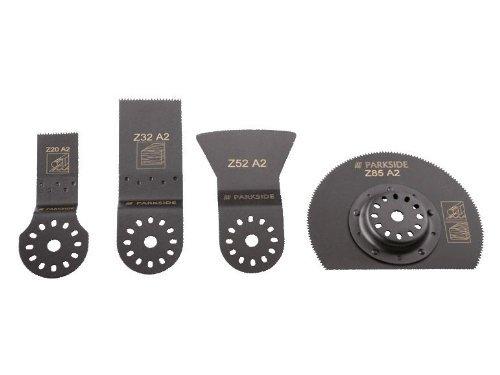 Preisvergleich Produktbild PARKSIDE Multifunktionswerkzeug-Zubehör 4 tlg. PMFWZ 4 A1