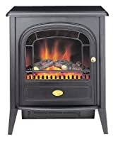 Dimplex CLB20R Club Traditionally Styled Optiflame Effect Electric Stove, 2 Kilowatt