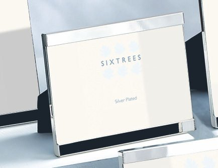 Sixtrees 2-697-46 - Cornice per foto con bordo superiore ed