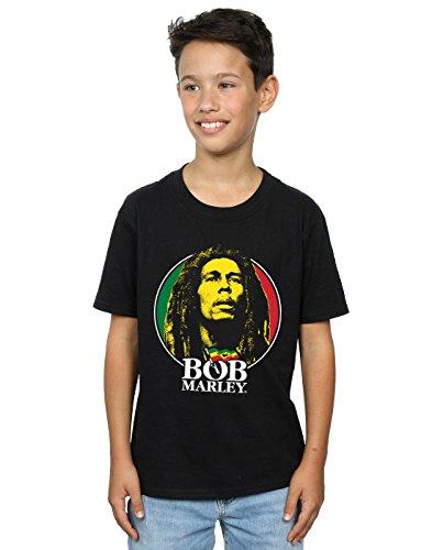 Bob Marley Jungen Logo Badge T-Shirt 9-11 Years Schwarz -