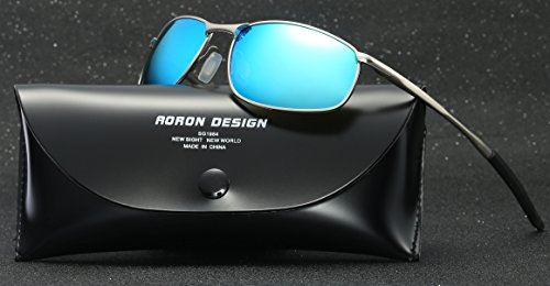 AORON Polarized Men Sunglasses Outdoor Sports Goggles Glasses UV400 Protection Driving Eyewear Mens Sunglasses