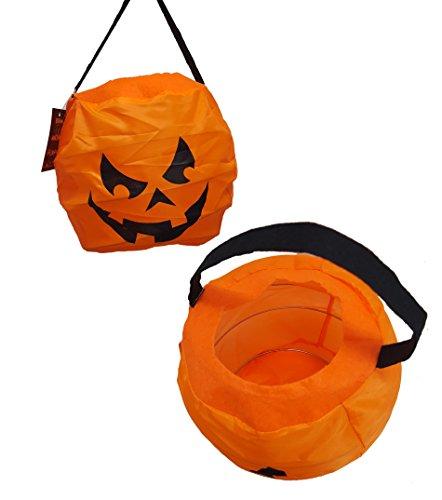 n Korb Stil Kinder Trick or Treat Tragetaschen Halloween Süßigkeiten/Candy Deko Party Zubehör (Tasche Von Knochen Halloween Requisiten)