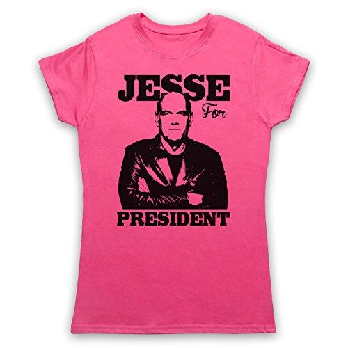 Jesse Ventura For President Damen T-Shirt Rosa