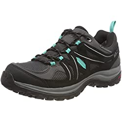 Salomon Ellipse 2 GTX W Zapatillas De Trail Running Para Mujer Color Gris Turquesa