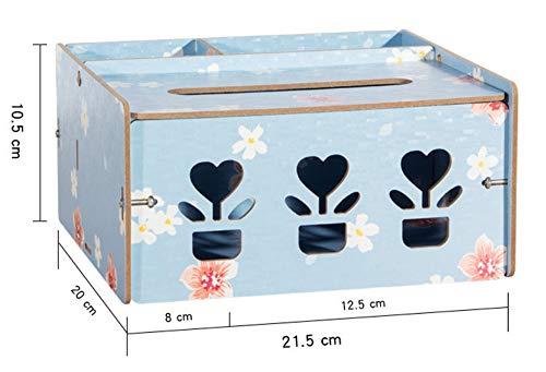 Joeesun Abnehmbare Seidenpapier Holzkiste Home Auto Container Handtuch Serviette Log Halter Schreibtisch Organizer Aufbewahrungsbox Geschirr (Log-servietten)