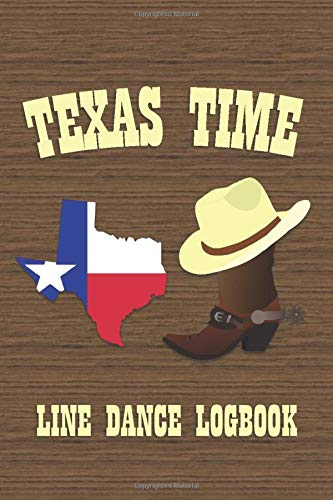 Texas Time: Line Dance Logbook Womens Lady Logger-boot