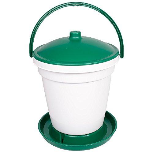 Automatischer Geflügel-Tränkeeimer 18 Liter bodenstehend - Geflügeltränke