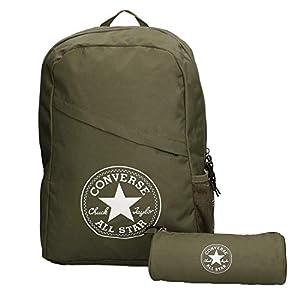 41Q57KW0LcL. SS300  - Converse Unisex mochila estuche Schoolpack XL set Surplus
