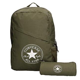 41Q57KW0LcL. SS324  - Converse Unisex mochila estuche Schoolpack XL set Surplus