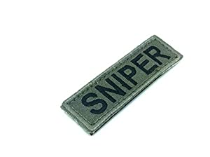 Sniper Airsoft Paintball Velcro Patch