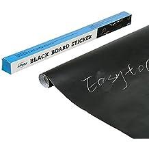 efluky adesivo nero ardesia (45 x 200 cm) per la