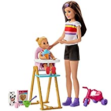 Barbie GHV87 Skipper Babysitters Inc Doll and Accessories