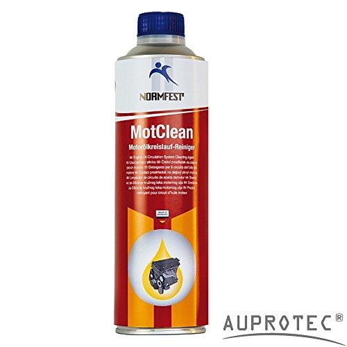 Auprotec® Normfest Motor Öl Kreislauf Reiniger MotClean System Reiniger Ölspülung Ölreiniger (1 Dose) Kreislauf-system