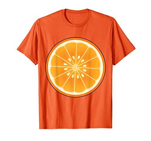 Kostüm Frucht Orange - Große Orange Geschnitten Kostüm Frucht Halloween Geschenk T-Shirt