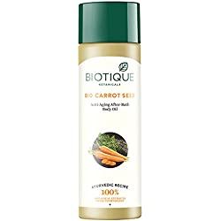 Bio Carrot Seed Anti-Aging After-Bath Body Oil, 120ml