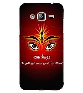 ColourCraft Maa Durga Design Back Case Cover for SAMSUNG GALAXY J3