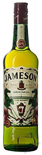 Jameson Irish Whiskey St. Patrick\'s Day Limited Edition 2016 designed by James Earley 40{82d875e2965f17fed98cf0b636219f7828b927577c8e3c6f299c43072f4389af} 0,7 l