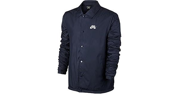 Nike M NK SB SHLD JKT Coaches Veste pour Homme, Bleu
