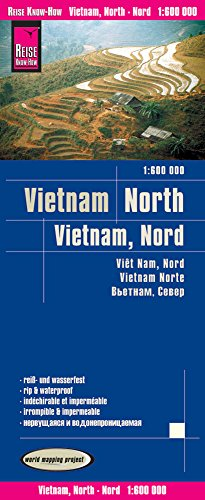 Vietnam nord : 1/600 000 par Reise Know-How