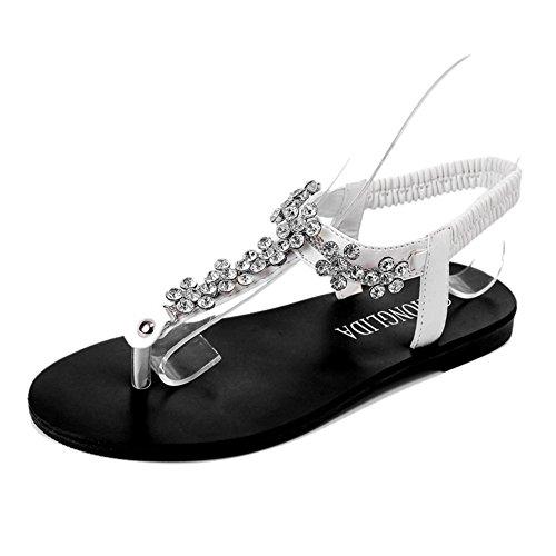 flach,damen sandalen/anti-schleudern,mode,damenschuhe-A Fußlänge=24.3CM(9.6Inch) (Ted Baker-flache Sandalen)