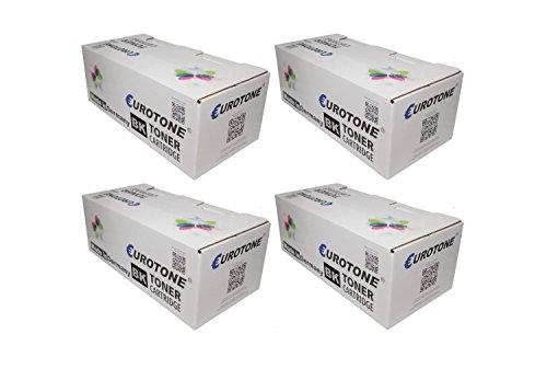 4X Eco Toner ersetzt HP Q5942A / 42A XXL Patronen - für Laserjet 4250 4350 DTN/DTNSL/N/TN - deutsche Qualität von Eurotone - kein Original - 100% kompatibel -