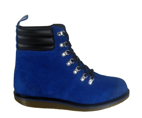 Dr. martens :  morgan hiking 7Eye bleu Bleu - Bleu