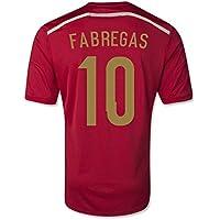 2014-15 Spain World Cup Home Shirt (Fabregas 10) - Kids
