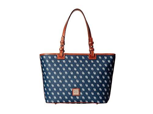 dooney-bourke-womens-small-leisure-handbag-tote-shopper-navy-white