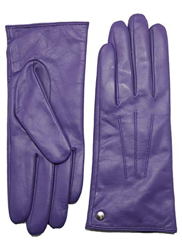 a1d251c3f91169 YISEVEN Damen Touchscreen Schaffell Lederhandschuhe mit Wolle Warm  Gefüttert Elegant Winter Leder.